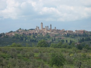 Our Granfondo will start and stop in San Gimignano.